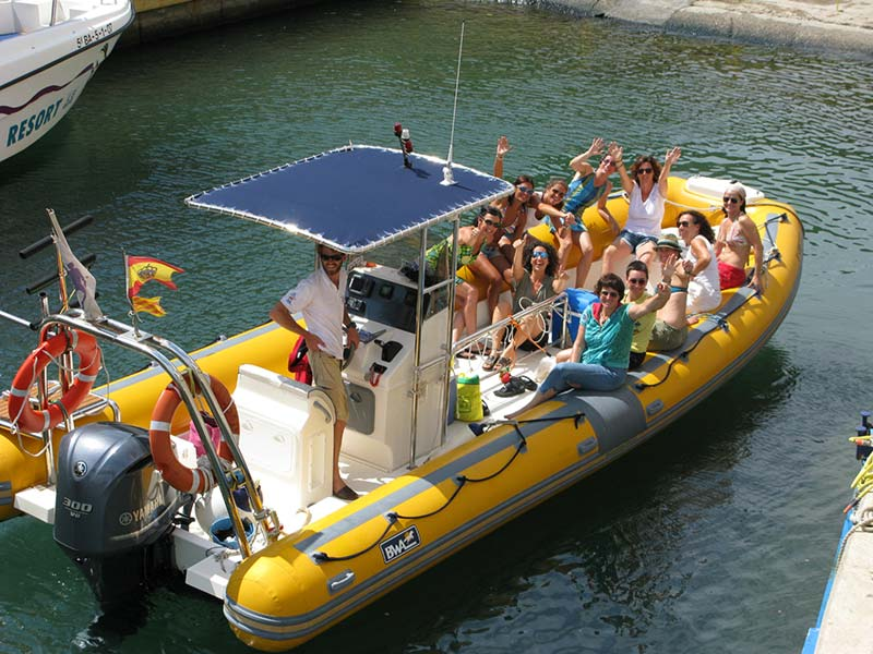 boat trip on the costa brava